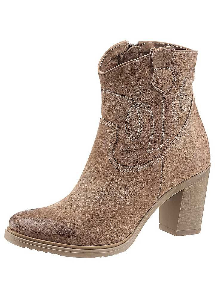 I'm Walking Cowboy Ankle Boots