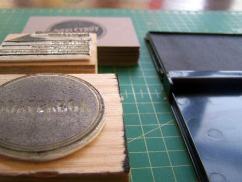 Desain Stempel Karet - Kartu Nama 6