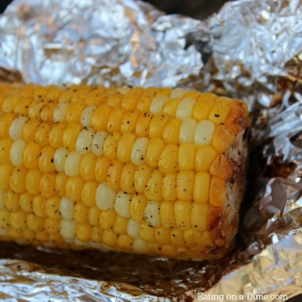 How to Grill Corn on the Cob - Eating on a Dime