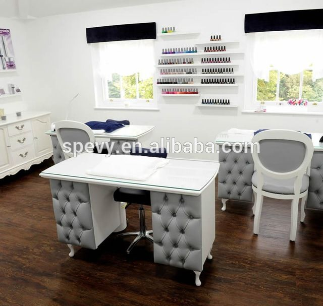 9 best manicure table images on pinterest manicures for Nail salon table