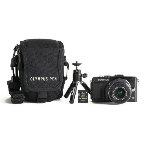 Olympus V205041BU040  E-PL5 16MP Compact System Camera with 3-Inch LCD Body Only (Black)