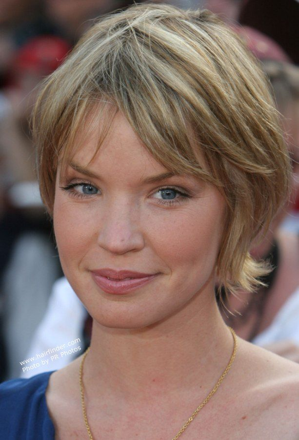 Awesome ashley scott hair