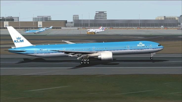 KLM Schipol...