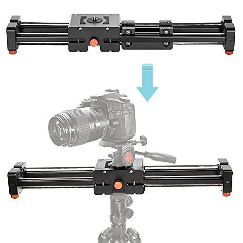 #techie #friends #Note: 1.Slider only and Camera, ballhead and Tripod are not included. 2.when put on ground,it only moves within its normal size range. Descript...