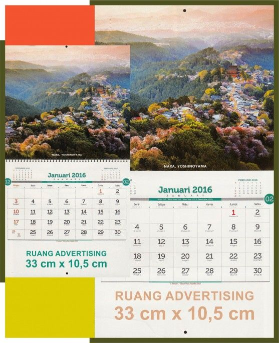 Calendar Alam : Best kalender meja pemandangan alam images on pinterest
