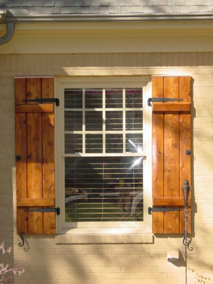 Fensterläden Selber Bauen