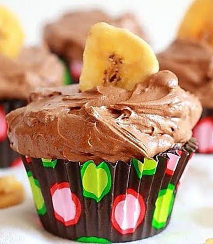 Gluten-Free Chocolate Banana Cupcakes