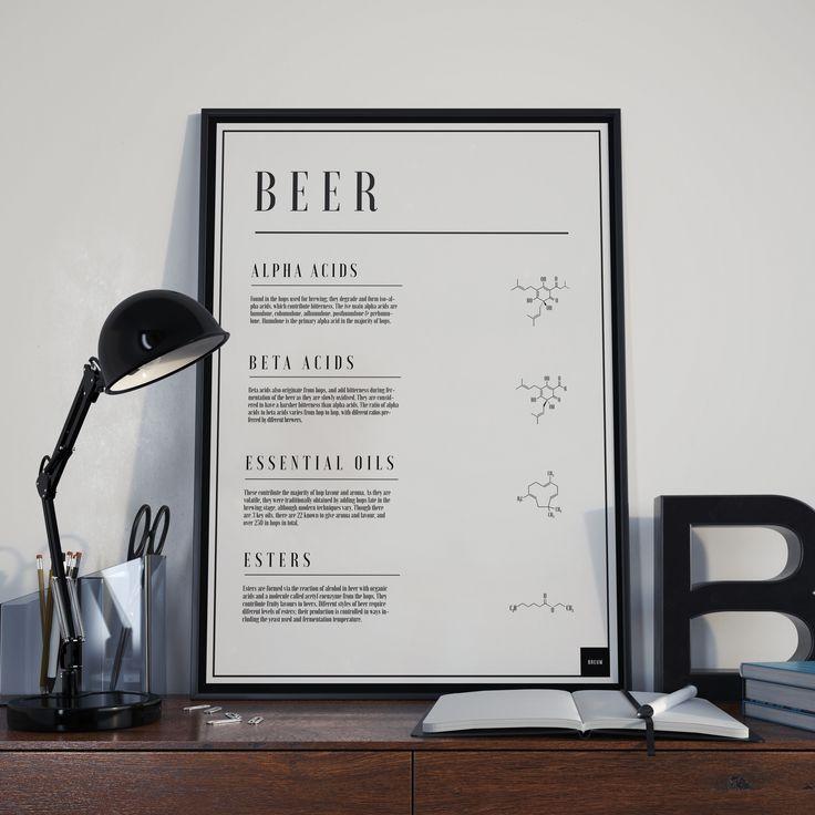 BEER - Molecular Poster www.breuw.com