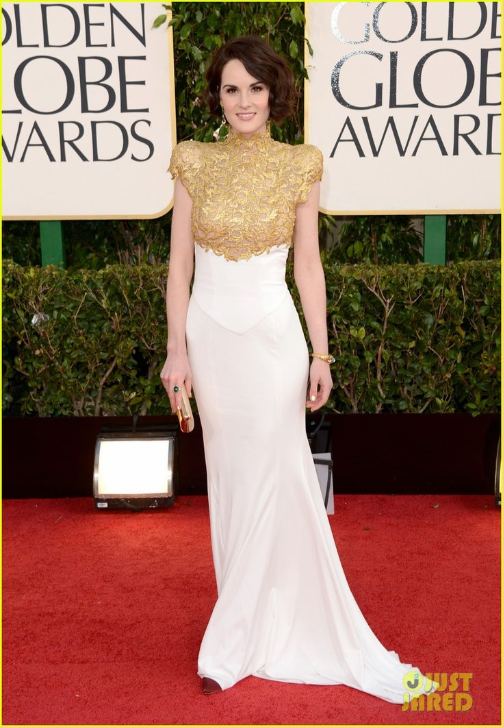 Michelle Dockery....prob my fave dress of the night
