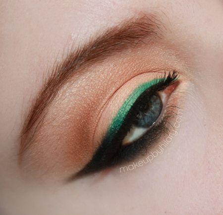 Emerald Eyeliner https://www.makeupbee.com/look.php?look_id=83490