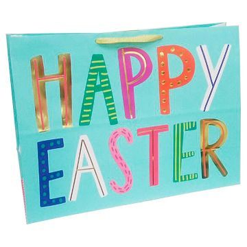22 best holiday easter images on pinterest easter bunny happy easter gift bag spritz negle Images