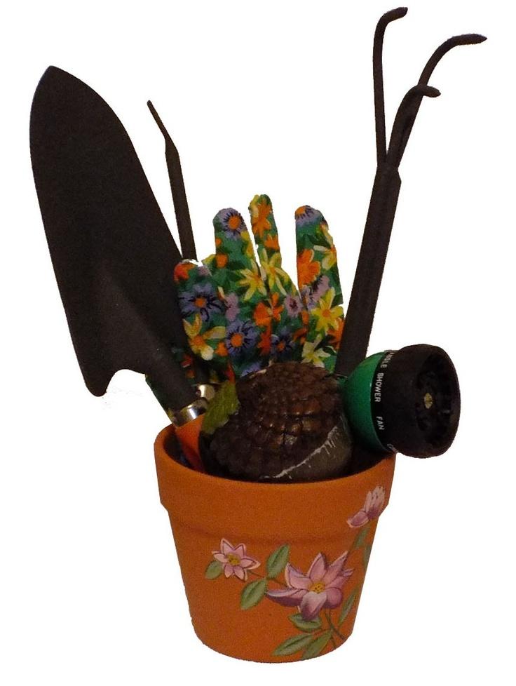 Garden Gift Basket Frg Ideas Pinterest