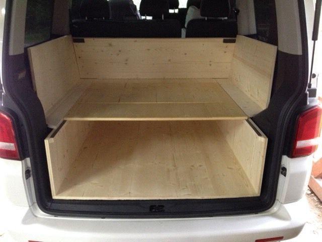 super t5 caravelle 6 sitzer heckausbau passgenau von. Black Bedroom Furniture Sets. Home Design Ideas