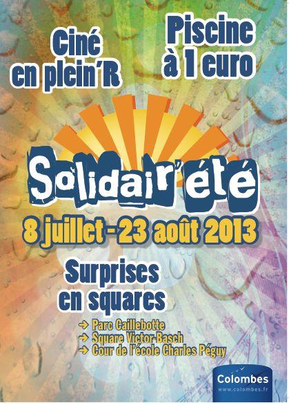 Solidair'été - Ville de Colombes