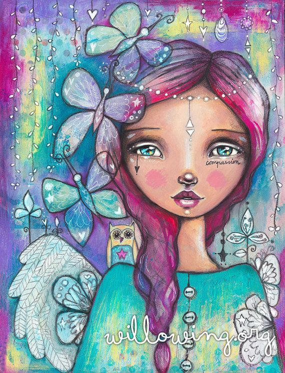You Have Wings Art Print by willowing on Etsy