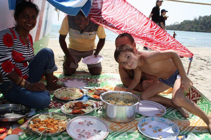 Гоа 2009. Пикник на пляже Палолем. #MaximManakov #Максимманаков #Palolem #Goa