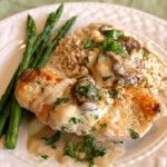 Mom's Chicken A La Gloria – A Family Favorite Chicken Recipe ... great food photo tutorial ...  I can tell that this dish is creamy and delicious just by reading the recipe ... will have to try it along with lots of vegetables and some fruit!!