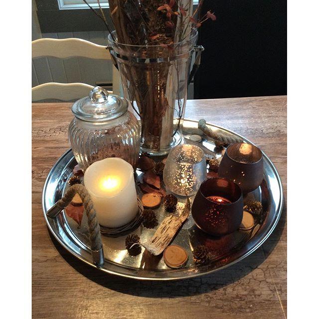 🌟H🌟Ø🌟S🌟T🌟  Et høstfat ferdig dekorert 😍