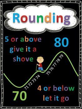 Rounding Anchor Charts FREEBIE