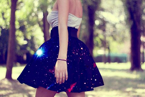 galaxy print prom dress   what's your problem?