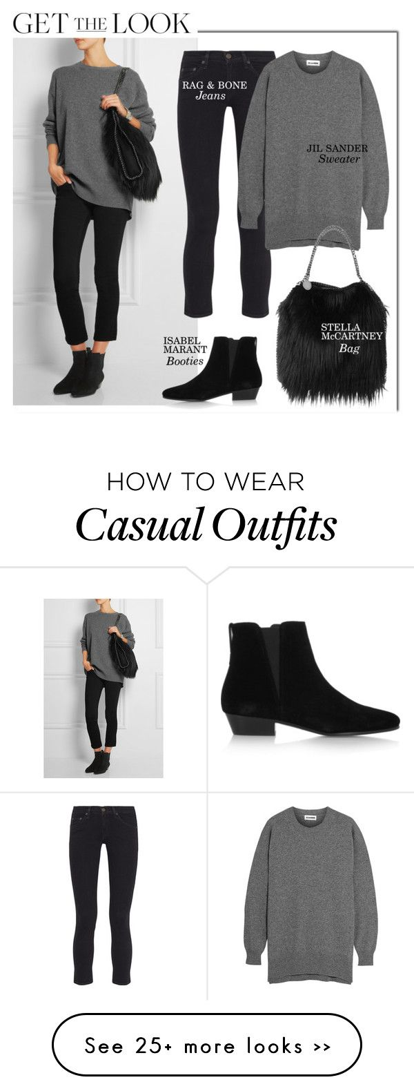 """Casual"" by monmondefou on Polyvore"
