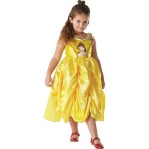 Deguisement Belle princesse Disney classic enfant la Belle et la Bête, Costume de Deguisement Disney Belle sous licence Officielle Disney Princess pour Fille.