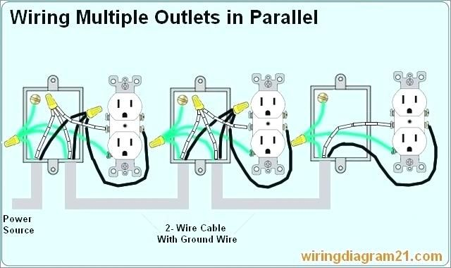 Multiple Gfci Outlet Wiring Diagram Wiring Multiple Outlets Diagram Wiring Diagram Multiple Home Interior Designs Ideas Outlet Wiring Electrical Outlets Wire