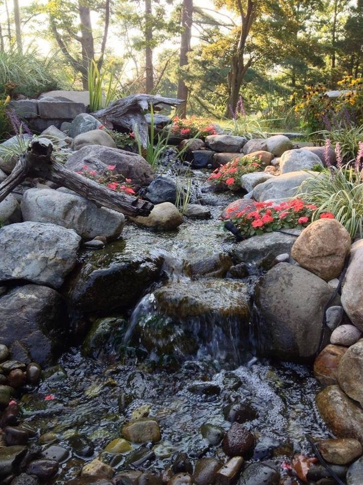 Disappearing Pondless Waterfall Installation U0026 Maintenance Services For   South Jersey, Camden, Burlington, NJ Homeowners