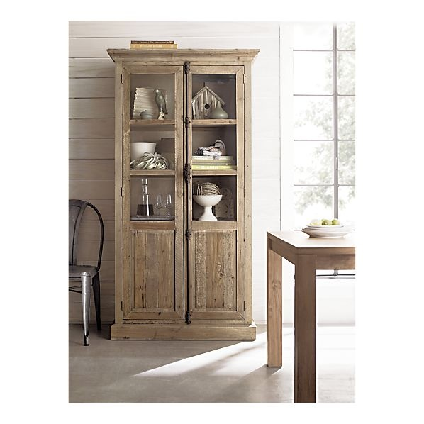 dining room storageDecor, Wood Cabinets, Dining Room Storage, Living Rooms, Storage Cabinets, Tall Cabinets, Crates And Barrels Dining Room, Bedford Tall, Kitchens Storage