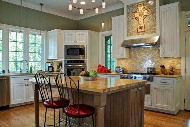 Угловой гарнитур для кухни с духовкой