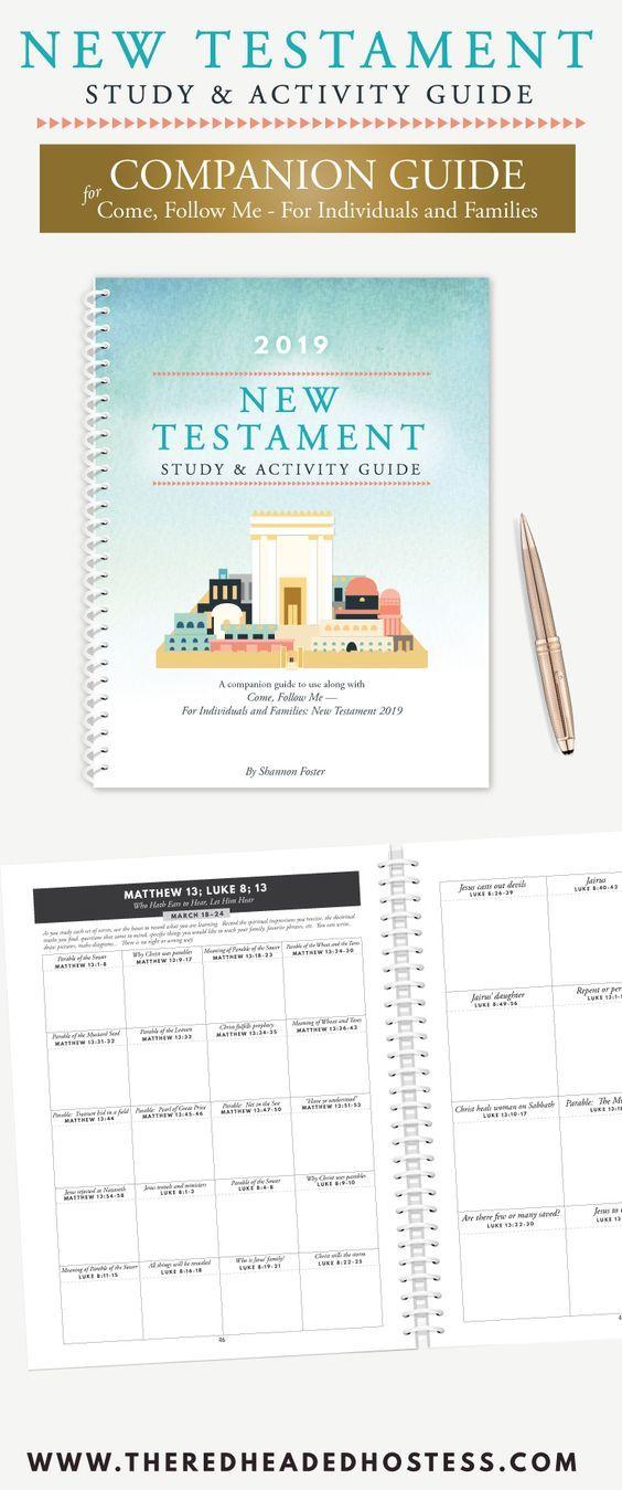 2019 New Testament Study & Activity Guide (Spiral Bound Book