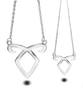 Fashion Jewelry Silver Charm The Mortal Instruments: City of Bones Angelic Power Pendant Necklace For Men And Women