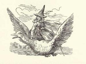 Ilustração para Contos de Mamãe Ganso, de Charles Perrault.