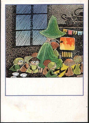 Illustration by Tove Jansson