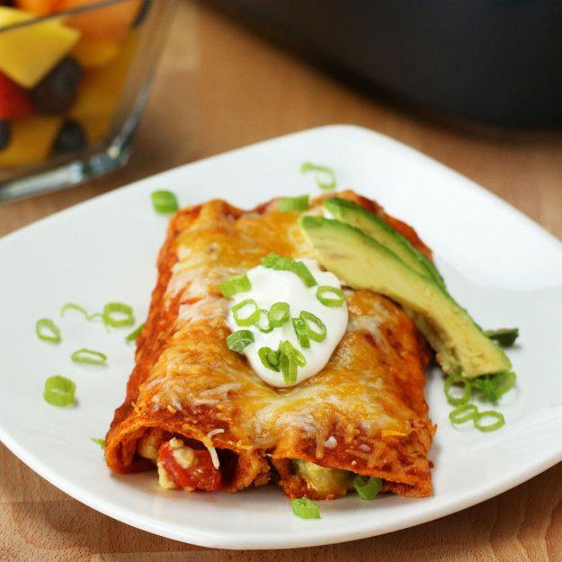 Western Breakfast Enchiladas | Wrangle In Your Hunger With These Western Breakfast Enchiladas