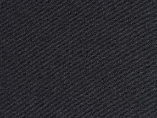 Oxford Grey Twill-Woven Wool Worsted