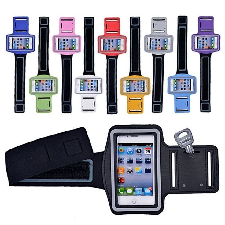 VOXLINK Colorful Sports Armband Case 4 inch Nylon Waterproof Arm Band Belt Case For iPhone 5 5S SE 5C 4 4S iPod Touch 5