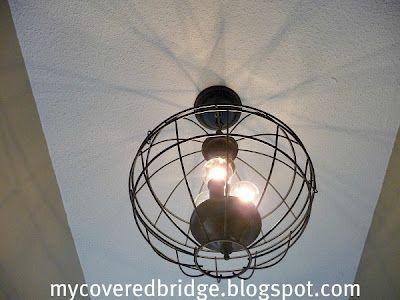 Best 20+ Wire Basket Chandelier Ideas On Pinterest | Diy Chandelier, Orb Light  Fixture And Rustic Light Fixtures