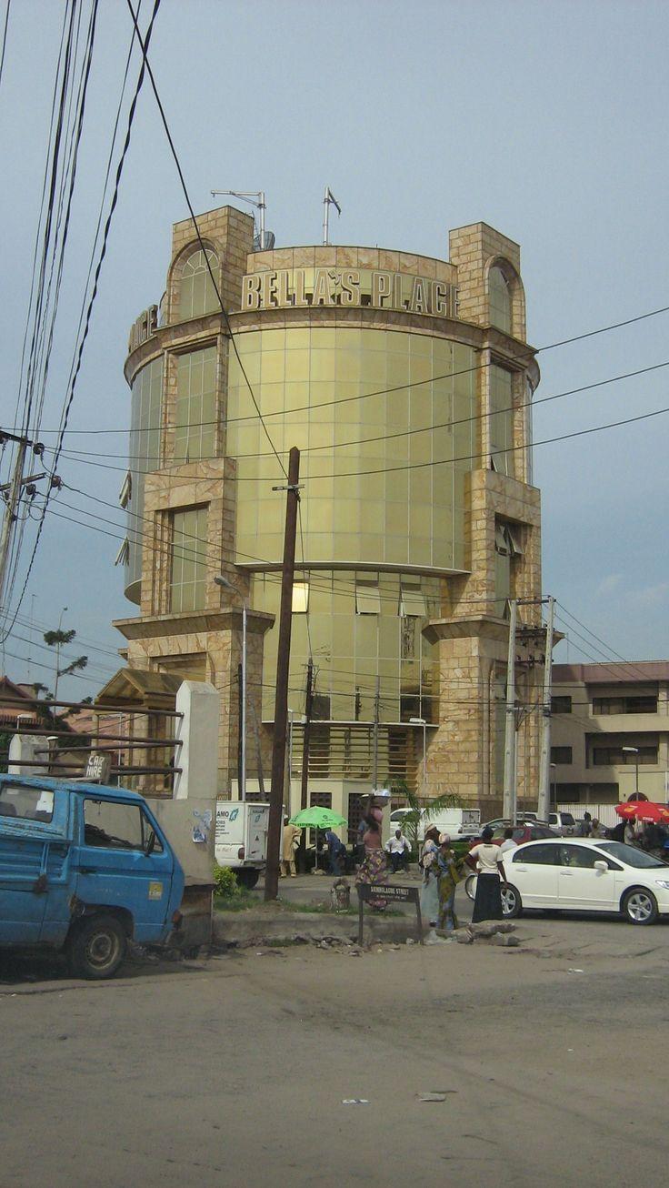 gold building, Lagos