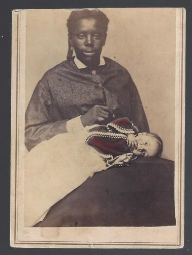 Rare-Civil-War-Era-CDV-of-An-African-American-Nanny-and-White-Childe-C-G-Giers     Rare-Civil-War-Era-CDV-of-An-African-American-Nanny-and-White-Childe-C-G-Giers  Have one to sell? Sell now Details about  Rare Civil War Era CDV of An African American Nanny and White Child