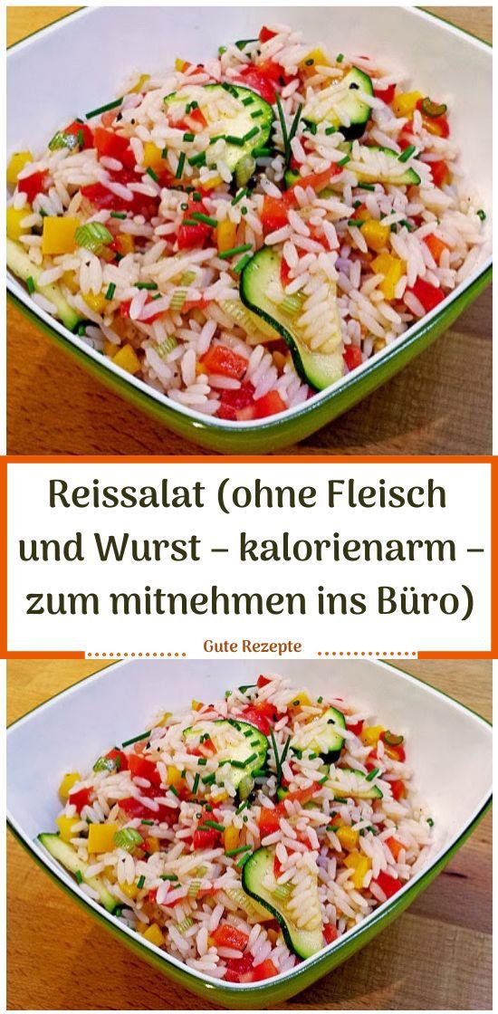 Reissalat (ohne Fleisch und Wurst - kalorienarm - zum