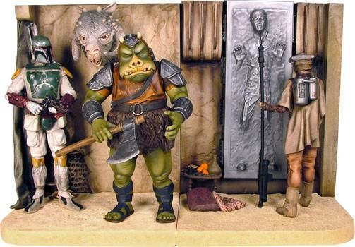 Gentle Giant Studios GG008063 Star Wars Bookends - Jabba's Palace
