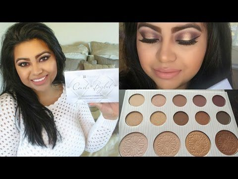 BH Cosmetics Carli Bybel Palette | Review/Demo & Swatches - YouTube