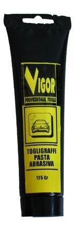 VIGOR PASTA ABRASIVA TOGLI - GRAFFI TUBETTO GR. 125 http://www.decariashop.it/prodotti-per-auto/19498-vigor-pasta-abrasiva-togli-graffi-tubetto-gr-125.html