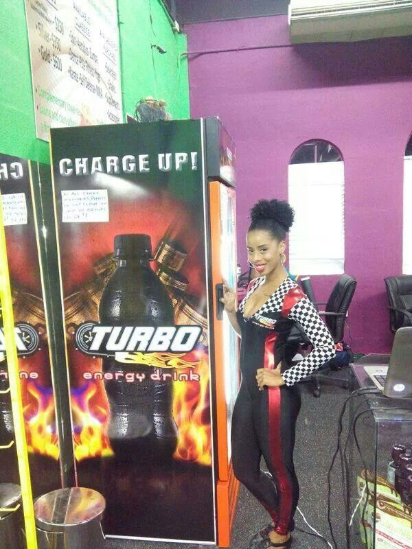 Charge up with TURBO Energy Drink
