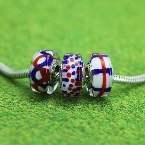 Ohm Beads Coraggio e Lealtà  Set 3 vetri €88 www.gold-jewels-italy.com