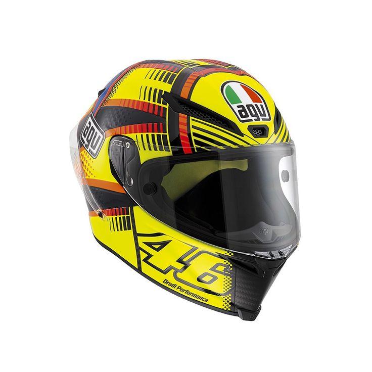 Caschi da moto Integrali Casco Integrale AGV PISTA GP E2205 TOP - SOLELUNA QATAR 2015