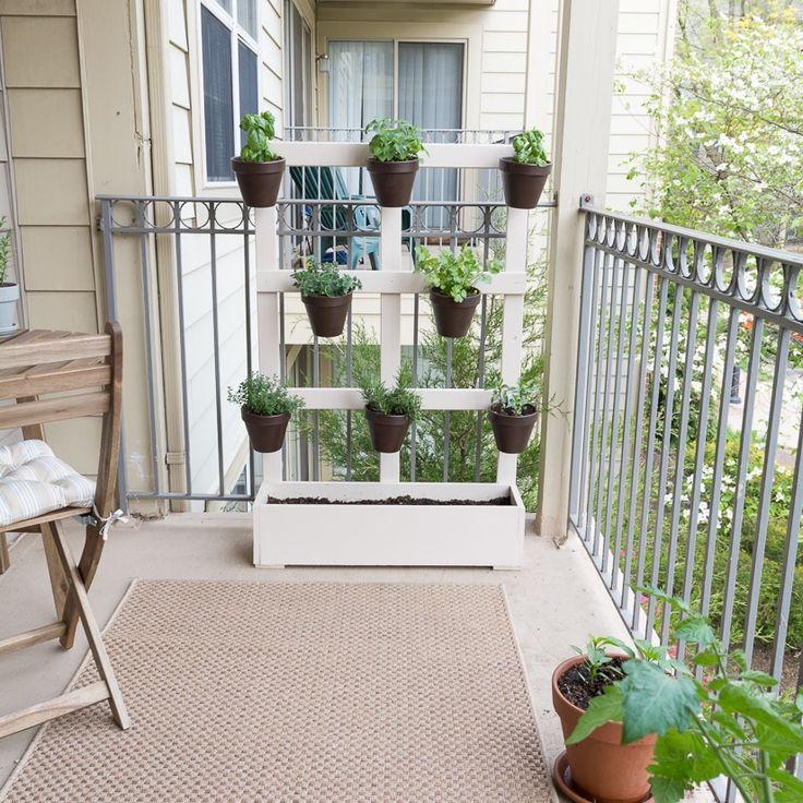 82 besten diy balkon und terrasse bilder auf pinterest. Black Bedroom Furniture Sets. Home Design Ideas