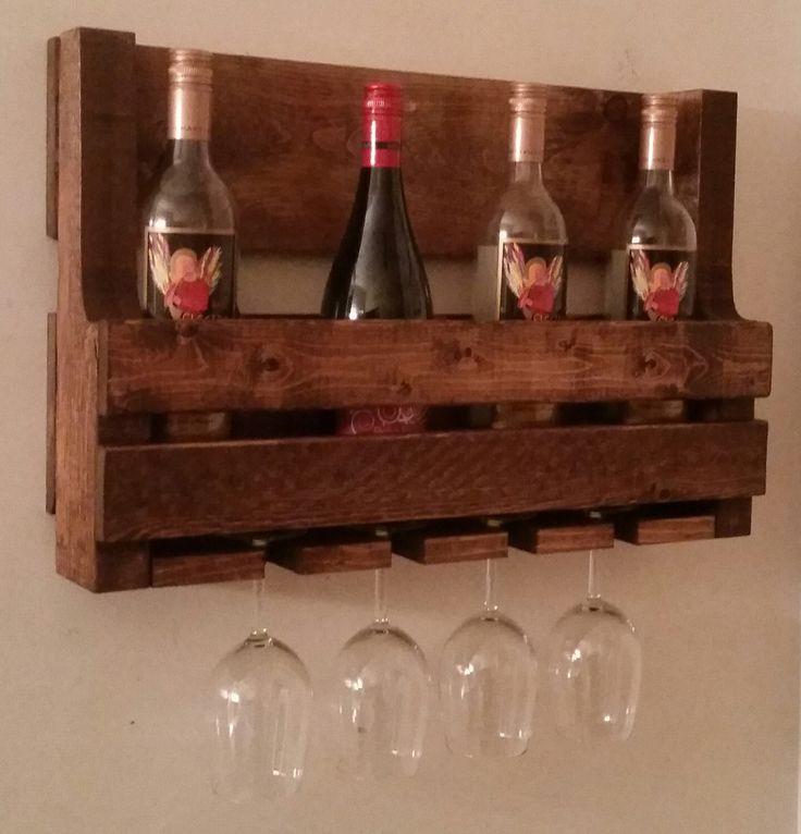 Wood Whisky Bottle Holder Ideas: 17 Best Ideas About Pallet Wine Racks On Pinterest