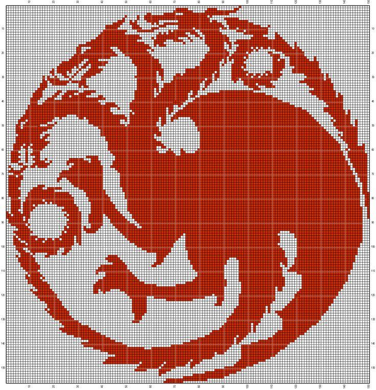 WoollyRhinoCrafts: FREE Game of Thrones Colorwork Charts - Part 2